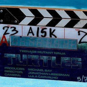 Teenage Mutant Ninja Turtles Logo Revealed, New Megan Fox Set Video
