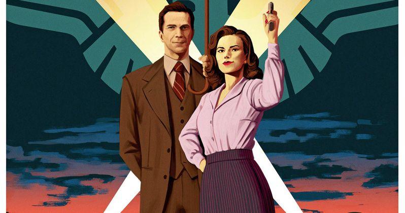 Agent Carter Season 2 Comic Con Poster