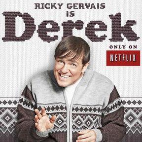 Derek Poster Featuring Ricky Gervais