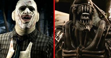 Alien & Leatherface Go Berserk in Mortal Kombat X Trailer