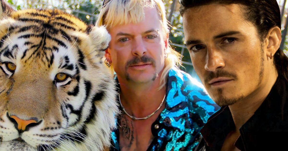 Orlando Bloom Wanted as Joe Exotic in Tiger King Movie?