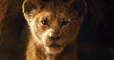 The Lion King Poster: Simba Takes His First Big Step