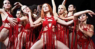 New Suspiria Remake Image Drops Dakota Johnson Into a Blood Ballet