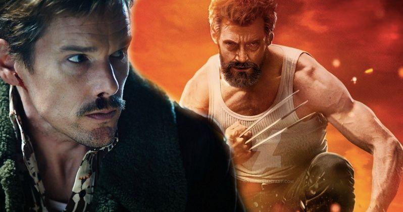 Ethan Hawke Says Logan Was a Fine (Not Great) Superhero Movie