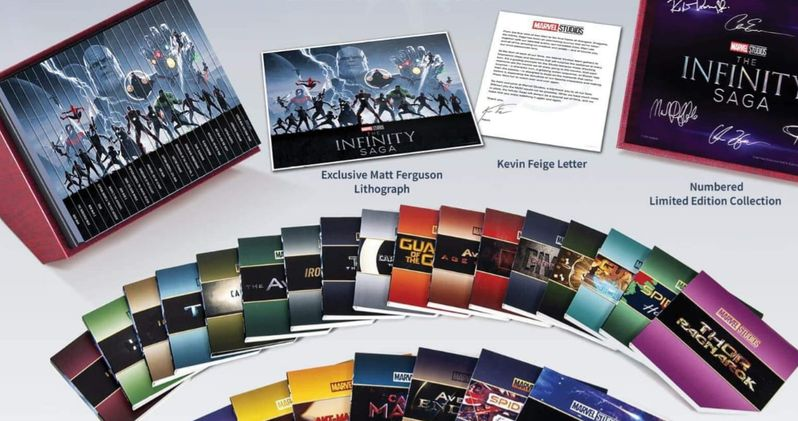 Marvel's Infinity Saga Box Set Blu-Ray Details Leaked, Releases Next Month
