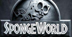 Spongebob Movie Posters Spoof Terminator, Jurassic World
