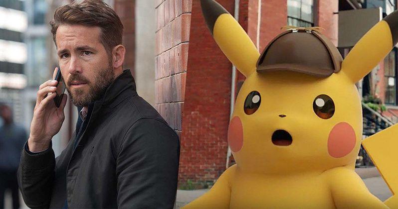 Detective Pikachu Begins Shooting with Ryan Reynolds