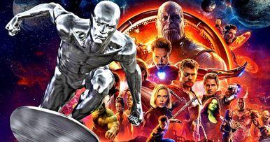 Did Marvel Sneak Silver Surfer Into Infinity War?