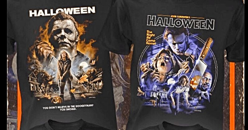 1d6e6700 Fright Rags Unveils New Halloween 1978 and 2018 T-Shirt Collection