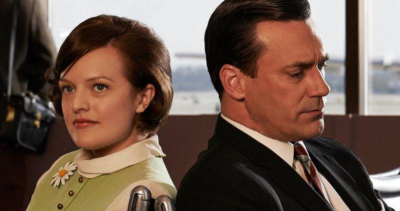 Mad Men Season 7 Photos: Don and Peggy Take Flight