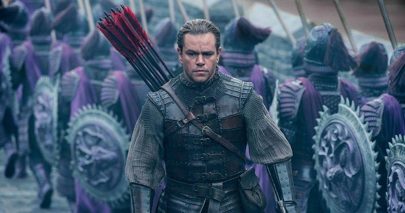 The Great Wall Poster Sends Matt Damon Soaring Into Battle