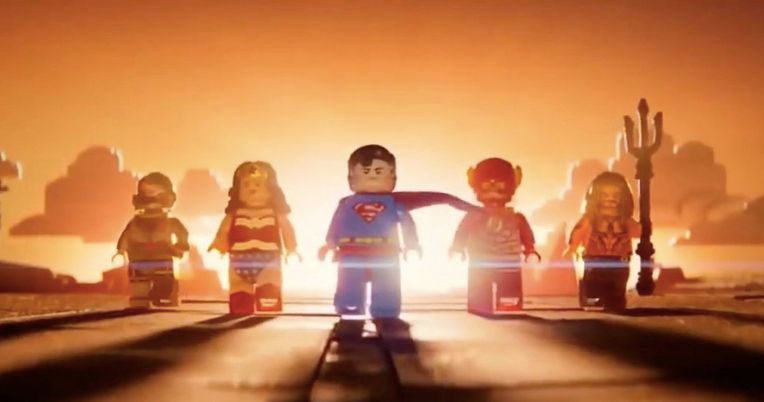 Justice League Reunites in New Lego Movie 2 TV Spot