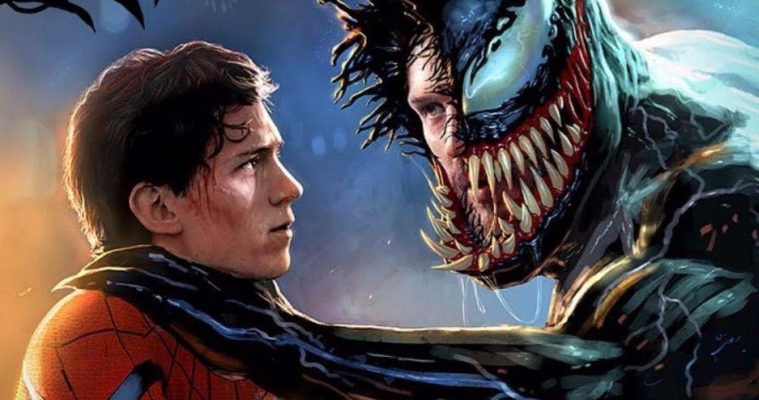 Tom Hardy Wears Spider Man Costume Firing Up Venom 2 Crossover Rumors