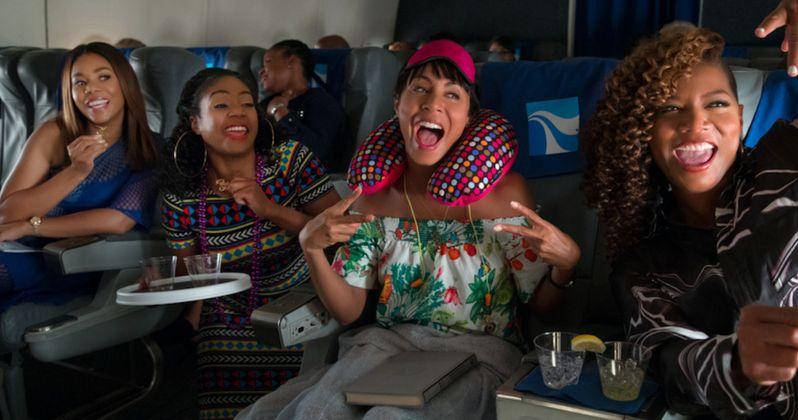 Girls Trip Red Band Trailer Parties Hard with Queen Latifah & Jada Pinkett Smith