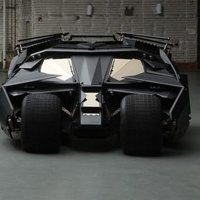 The Dark Knight Rises Blu-ray Takes the Batmobile on Tour!