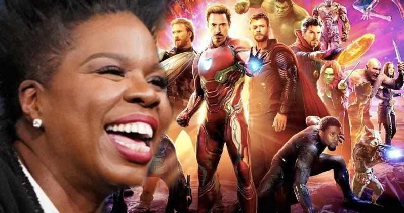 Leslie Jones Live-Tweeted Infinity War and It's Hilarious