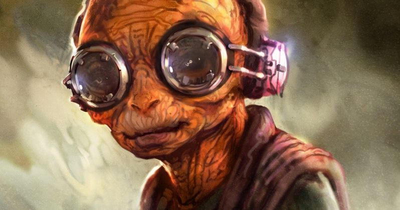 J.J. Abrams Reveals Inspiration for Maz Kanata in Star Wars: The Force Awakens