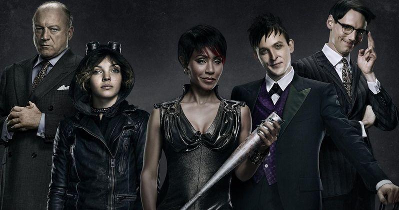 Gotham Poster Brings Out the City's Most Dangerous Villains
