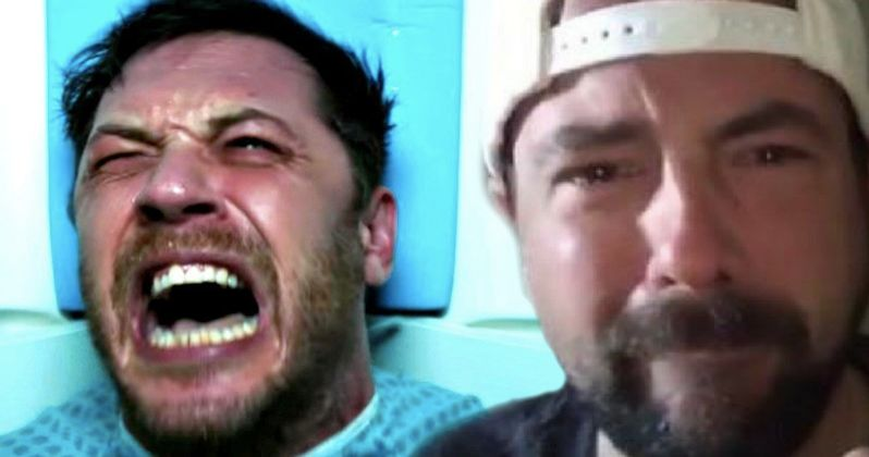 Kevin Smith Cries Over Venom Trailer, But Not in a Good Way