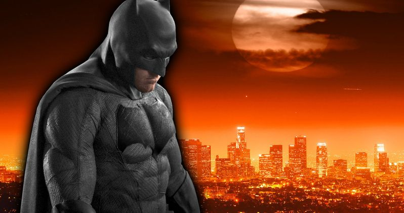 The Batman to Shoot in Los Angeles with or Without Ben Affleck?