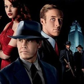 Gangster Squad Cast Banner with Sean Penn and Josh Brolin