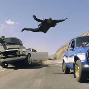 Fast & Furious 6 Tank Photo with Tyrese Gibson
