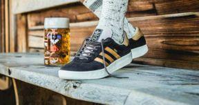 Adidas Introduces Puke & Beer Repellent Sneakers for Oktoberfest