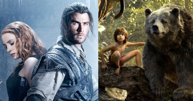 Can Huntsman 2 Take Down The Jungle Book at the Box Office?