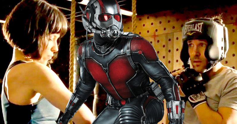 First Ant-Man 2 Set Photos Reunite Evangeline Lilly & Paul Rudd