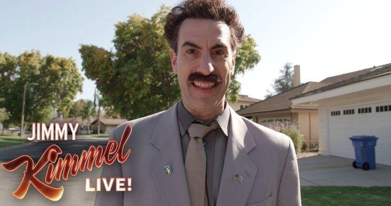 edcf3840d54 Sacha Baron Cohen Returns as Borat to Celebrate Election Day