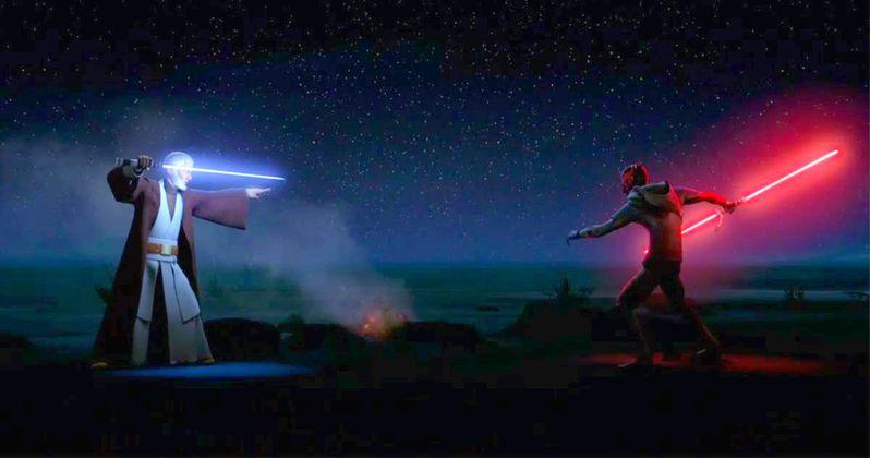 Maul Fights Kenobi in Star Wars Rebels Episode 3.17 Preview