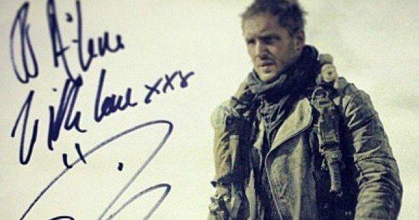 Mad Max: Fury Road Photo Reveals Tom Hardy as Mad Max Rockatansky