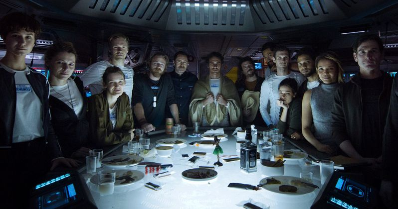 Alien: Covenant Crew Photo Has First Look at James Franco