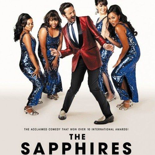 The Sapphires Poster with Chris O'Dowd
