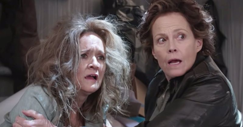 Sigourney Weaver Is Back as Ripley for Not the White House Correspondents' Dinner Sketch