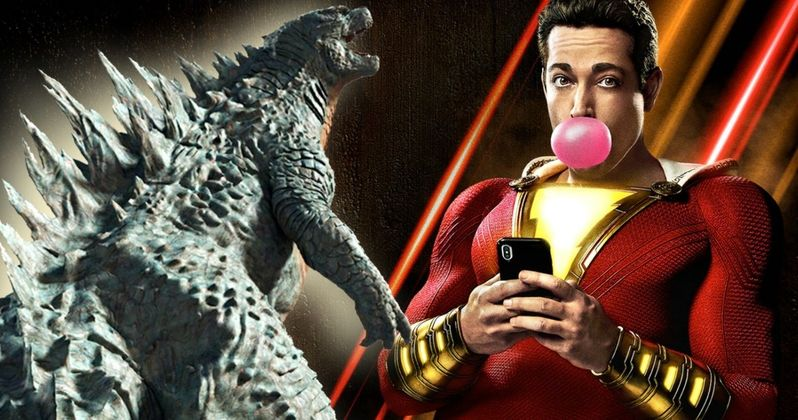 Godzilla: King of the Monsters 5-Minute IMAX Preview Is Playing with Shazam!