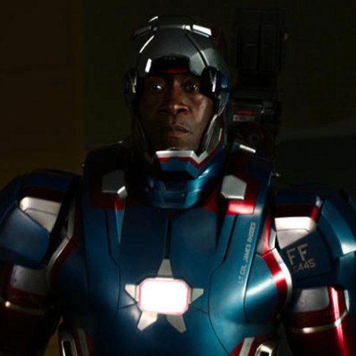 Iron Man 3 Photos Reveal Don Cheadle in His Iron Patriot War Machine Armor