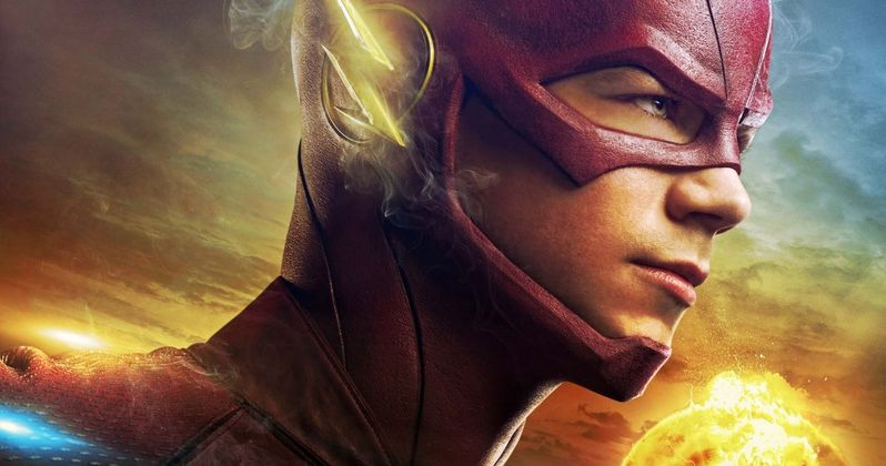 The Flash Gag Reel & New Costume Photo