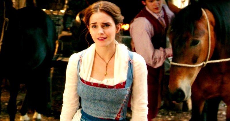 emma watson sings belle in latest beauty and the beast clip