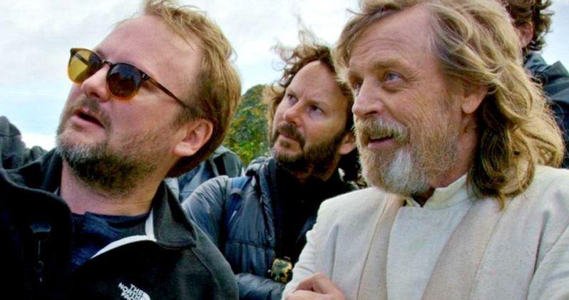 Last Jedi Director Brushes Off Mark Hamill's Stinging Criticisms
