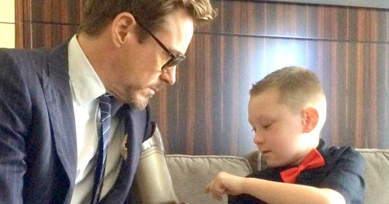 Robert Downey Jr. Gives Boy Iron Man Inspired Bionic Arm