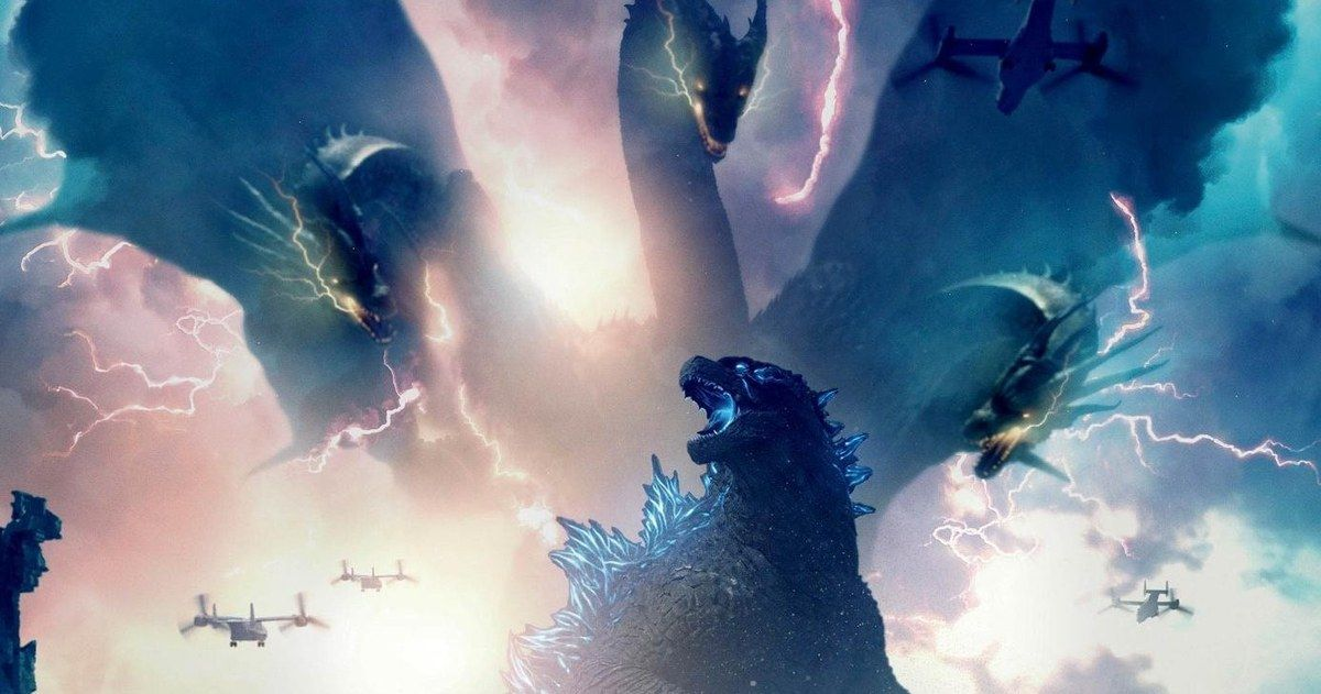 Movie Poster 2019: Electrifying New Godzilla: King Of The Monsters Posters