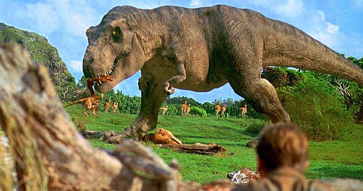 Jurassic Park Deleted Scene T Rex Steven Spielberg.'