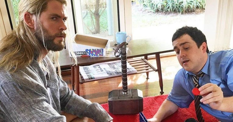 Thor's Roommate Darryl Survived Thanos' Infinity War Snap