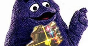 Grimace Becomes Thanos in Epic Infinity War Cosplay Mashup