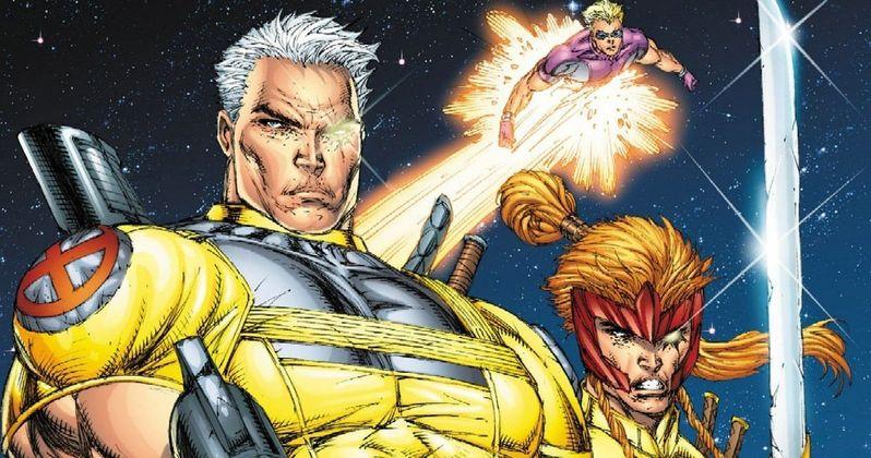 X-Force Movie Art Reveals New Mutant Lineup?