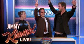 Watch Avengers 2 Cast Play Family Feud on Jimmy Kimmel Live