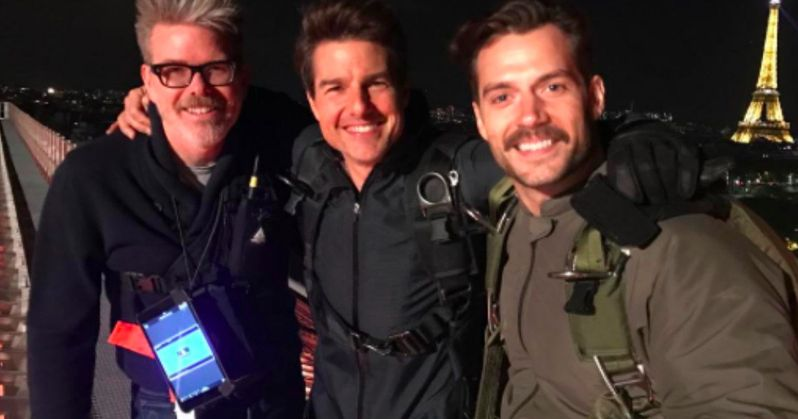 Henry Cavill Goes Undercover in Mission: Impossible 6 First Look