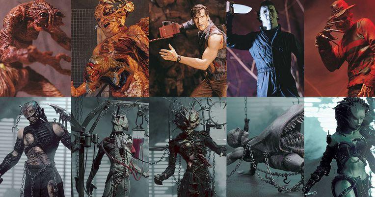 McFarlane Toys Brings Back Movie Maniacs & Tortured Souls Horror Figures