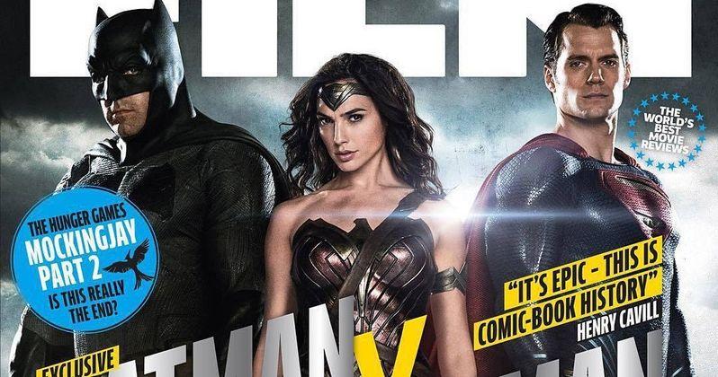 Batman v Superman Total Film Cover & 4 New Photos